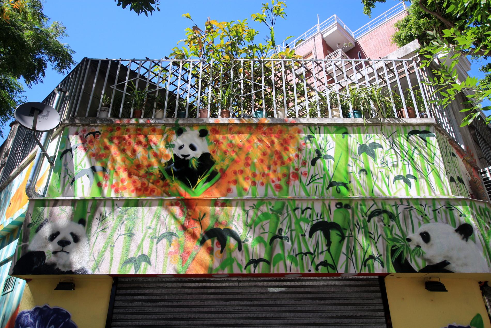 belgrano street art graffiti barrio chino buenos aires pandas arte callejero ba street art buenosairesstreetart.com