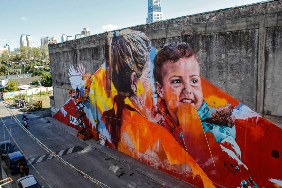 mural spear leticia bonetti buenos aires street art adri godis buenosairesstreetart.com