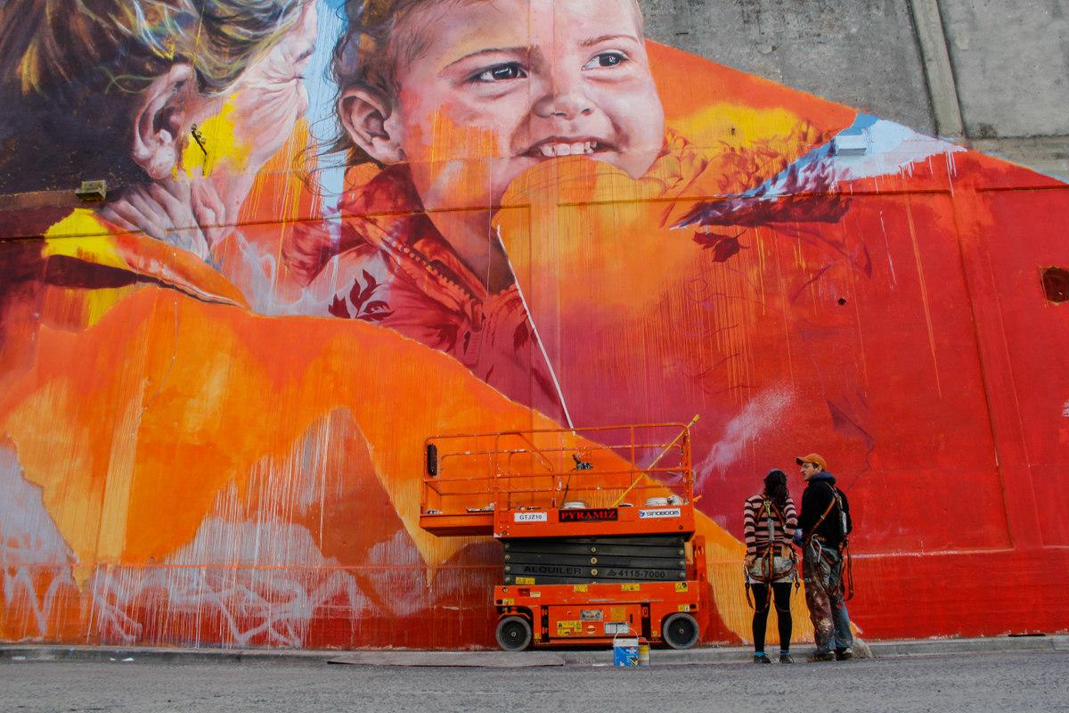 leticia bonetti spear mural ambiental buenos aires street art arte urbano buenosairesstreetart.com