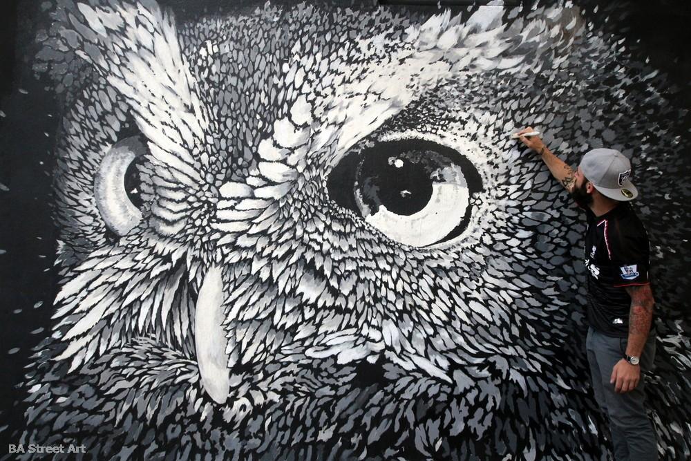 owl argentina mural buenos aires street art paul mericle baltimore buenosairesstreetart.com