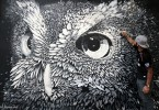 BA Street Art owl mural arte callejero argentina buenos aires buenosairesstreetart.com