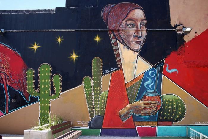 mate argentina bebida drink mural buenos aires buenosairesstreetart.com
