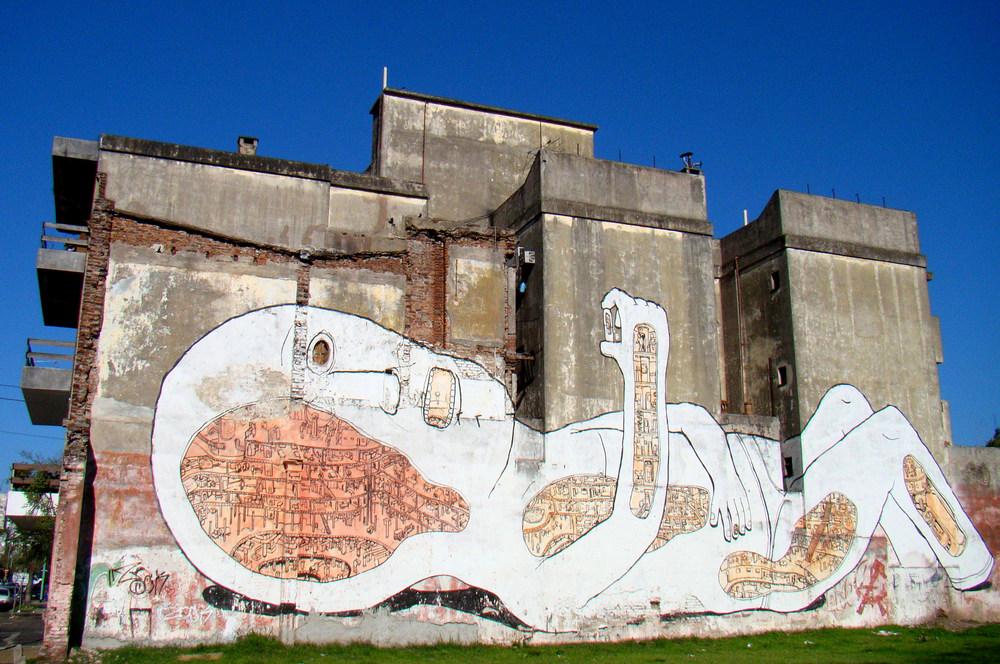 blu mural buenos aires argentina graffiti tour baby pill villa urquiza