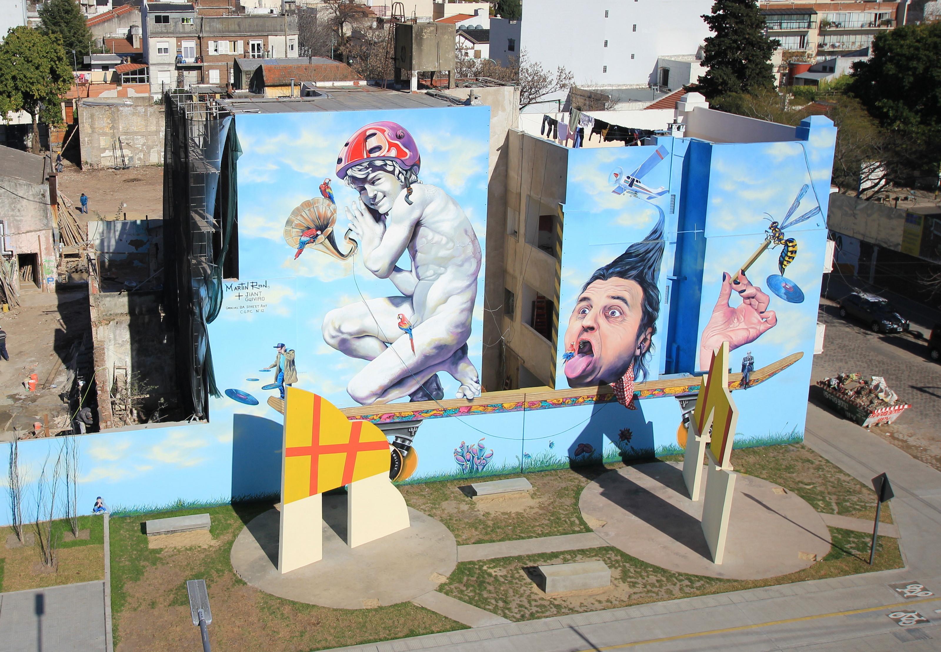 mural mas grande buenos aires graffiti tour project organised by Buenos Aires Street Art arte urbano ciudad mas grande