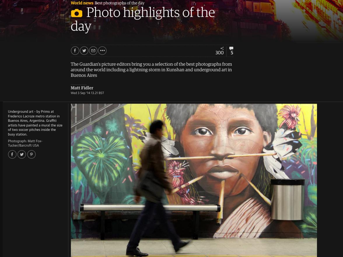 estacion de subte murales buenos aires street art federico lacroze nota article guardian