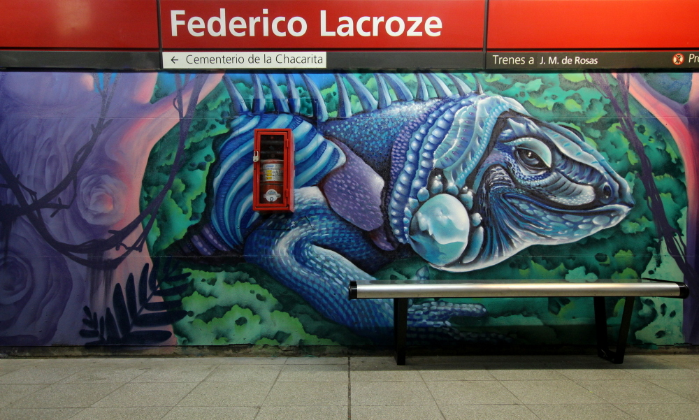 subway art buenos aires argentina graffiti estacion station vagones trenes graffiti murales arte urbano station urban art train station