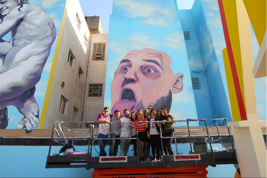 tourism buenos aires graffiti tour argentina mural organised by BA Street Art