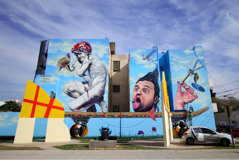 largest mural buenos aires argentina graffiti tour BA Street Art tallest