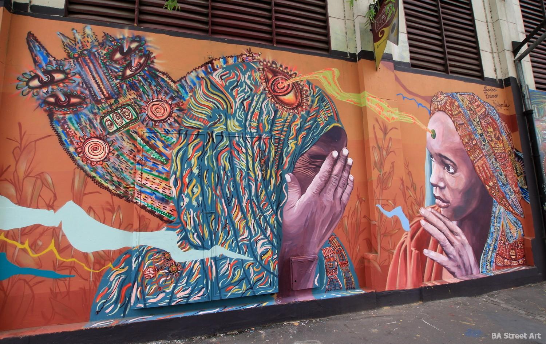 mercado de pulgas colegiales buenos aires murales arte callejero buenosairesstreetart.com
