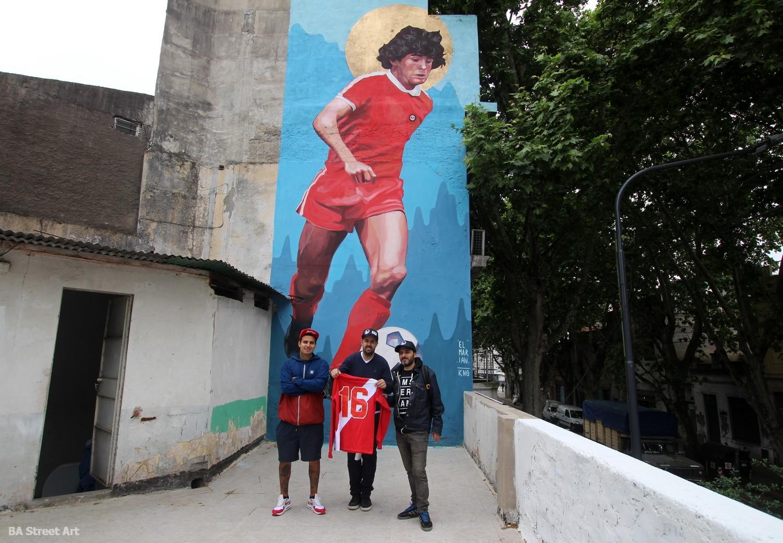 artista el marian KNO cesar perez la casa de d10s buenos aires la paternal argentinos juniors museo buenosairesstreetart.com