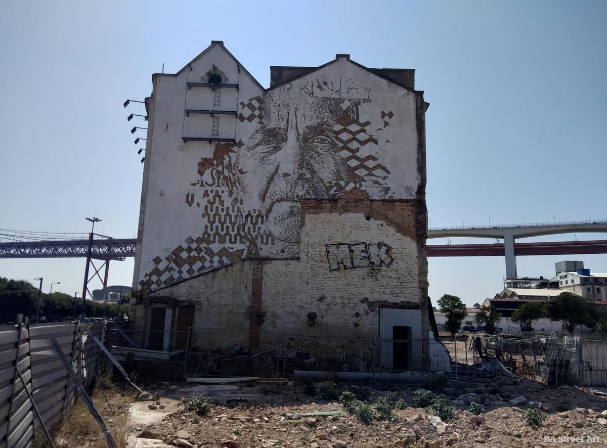 vhils lisbon portugal alcantara sculpture lisboa mural graffiti tour escultura