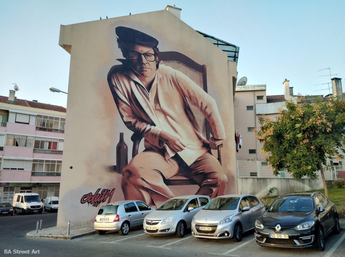 odeith 3d art lisbon portugal mural graffiti tour lisboa zeca afonso fado