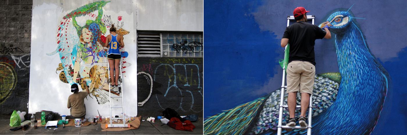 graffiti tour buenos aires argentina artistas murales patrocinados por buenos aires street art