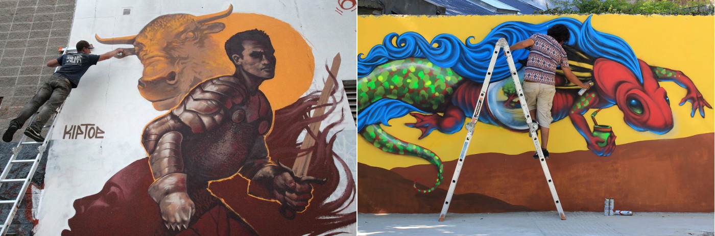 argentina graffiti tour buenos aires grafiteros internacionales capital del mundo murales patrocinados por buenos aires street art