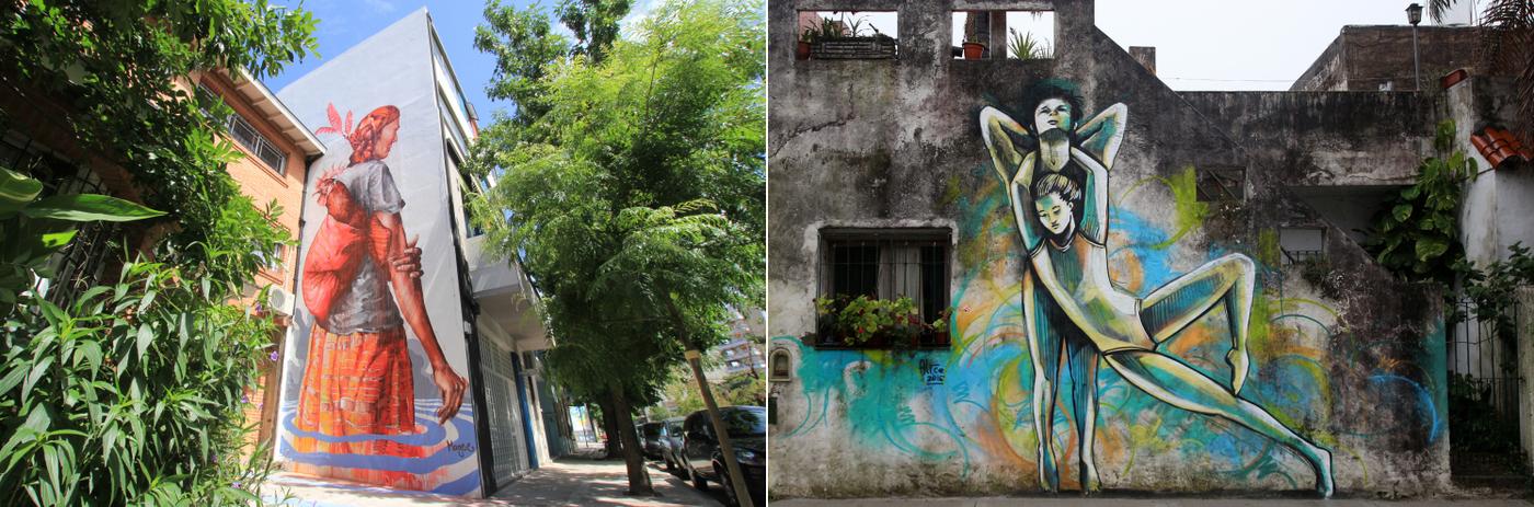 graffiti tour buenos aires argentina fintan magee alice pasquini artistas murales patrocinados por buenos aires street art