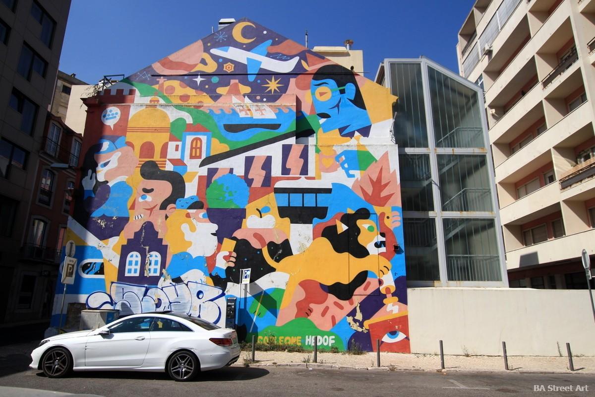aka corleone graffiti murales arte urbano lisboa portugal buenosairesstreetart.com