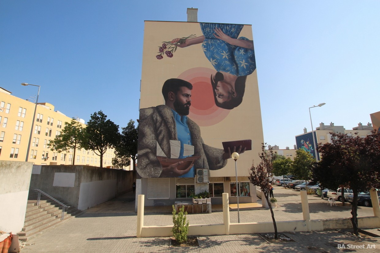 colectivo licuado mural portugal lisboa barrio padre cruz arte callejero artista muralismo arte urbano buenosairesstreetart.com