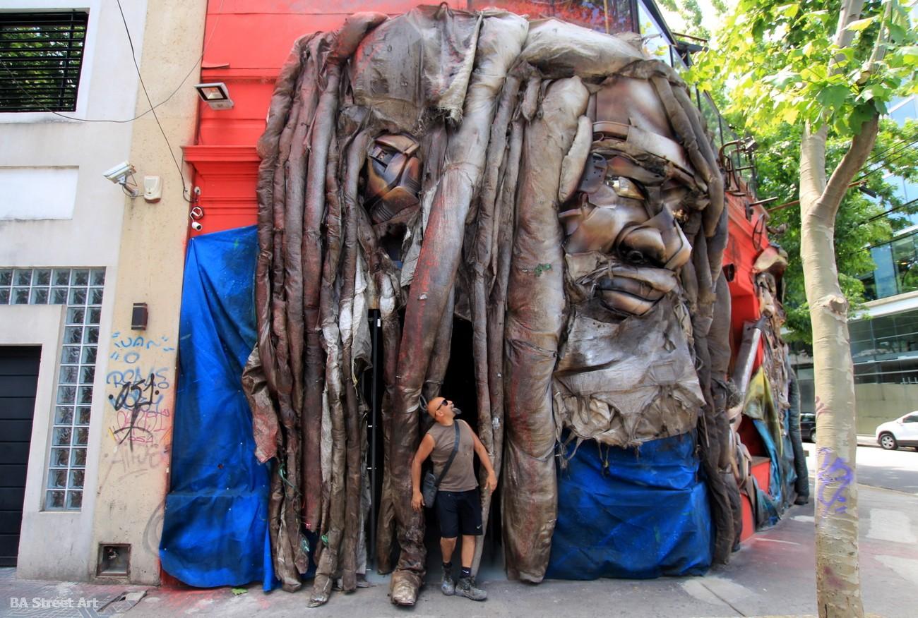 argentina graffiti tour alfredo segatori buenos aires street art arte urbano rasta reciclaje