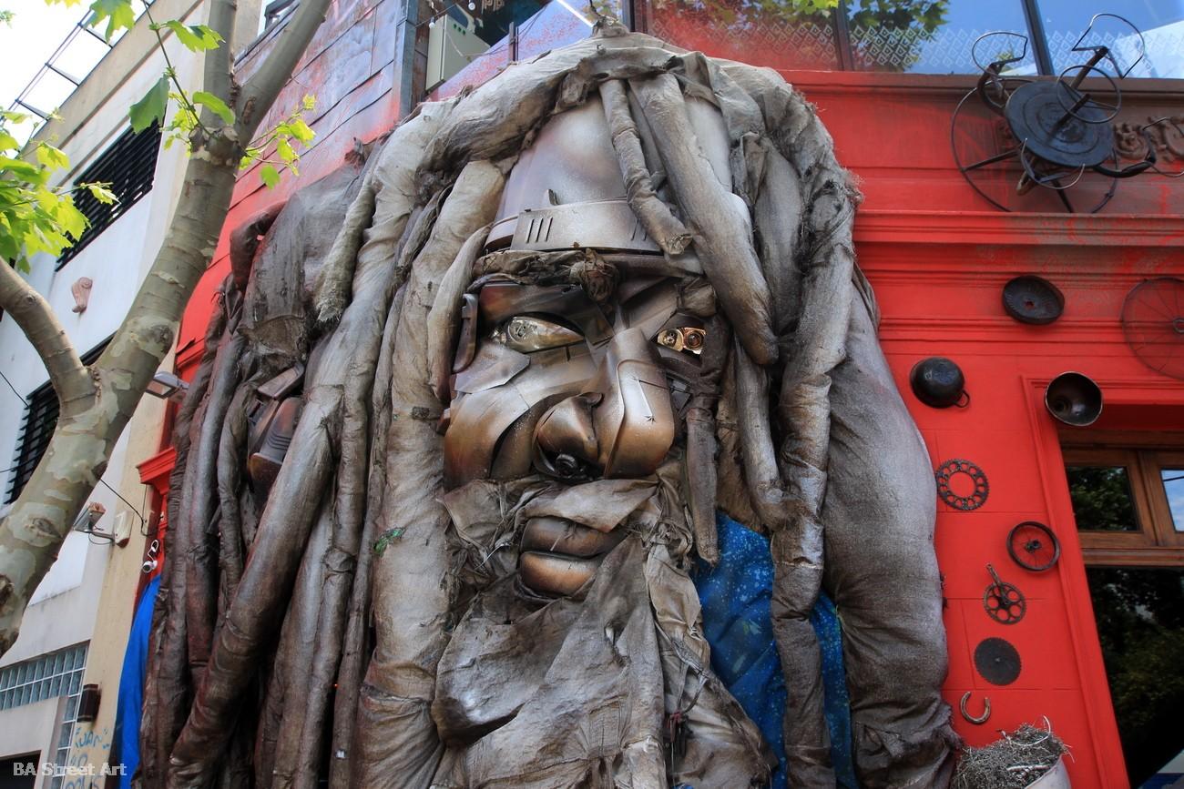 graffiti tour palermo alfredo segatori buenos aires street art arte urbano reciclaje murales