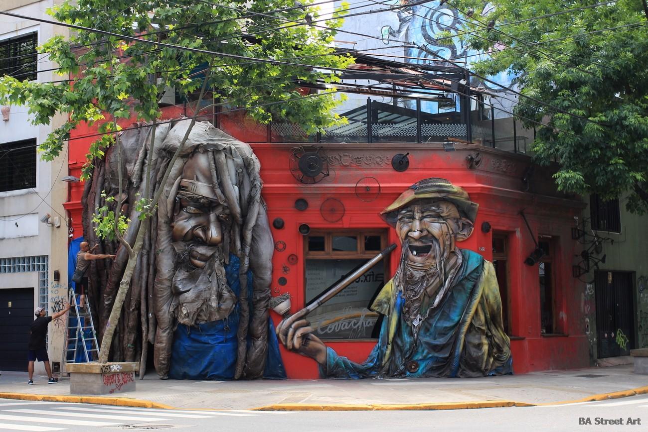 palermo graffiti tour alfredo segatori buenos aires street art