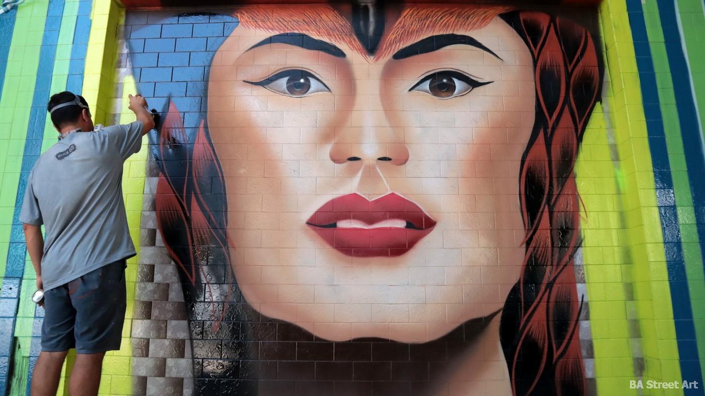 aerosol montana 94 hech uno graffiti artist buenos aires street art
