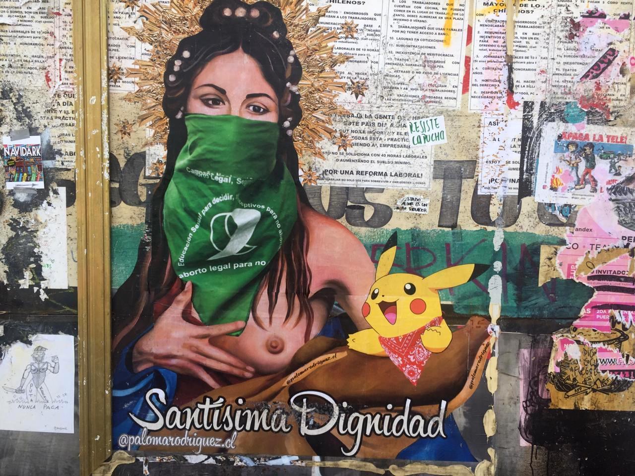 santiago de chile aborto legal pañuelo verde mujeres feminism feminismo
