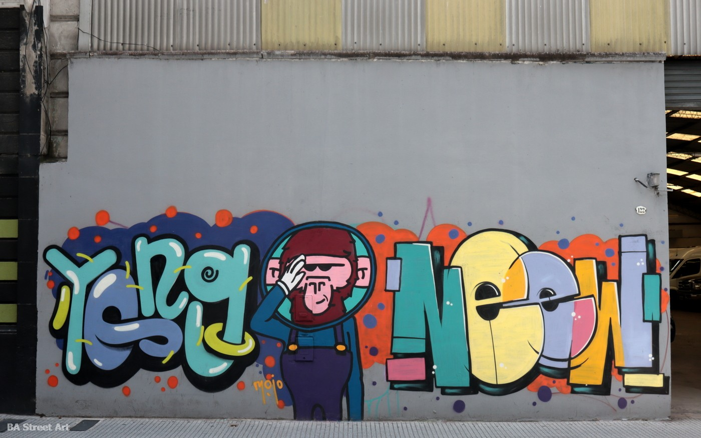 graffiti tour san telmo mojo yong neew buenos aires