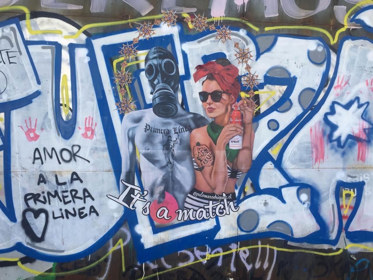 feminism latin america protest art santiago de chile capital arte urbano