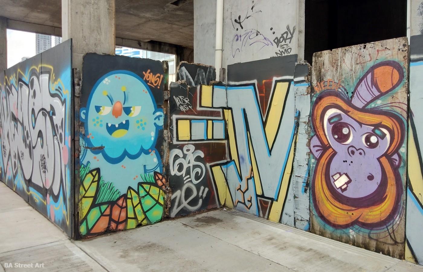 street art puerto madero mural arte urbano buenos aires buenosairesstreetart.com