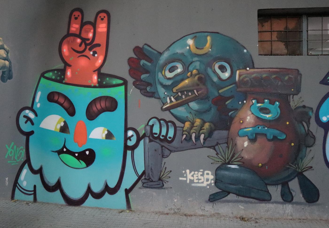cartoon graffiti yong brasil arte urbano grafiti buenosairesstreetart.com