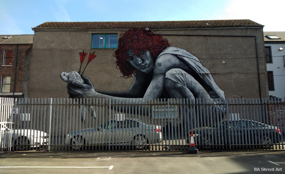 MTO mural belfast street art tour son of protagoras cathedral quarter northern ireland graffiti