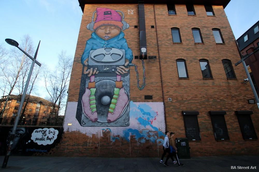 murales belfast norte de irlanda arte callejero graffiti KVLR