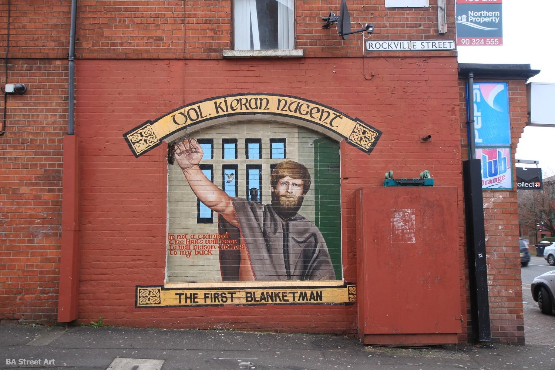 blanket man kieran nugent belfast mural tour northern ireland political graffiti propaganda
