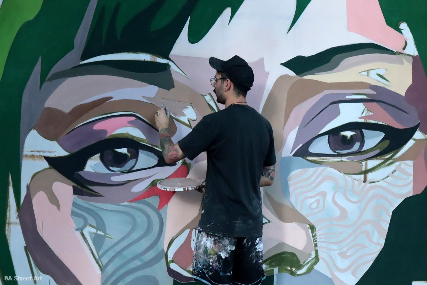 patxi mazzoni alonso mural mujer arte callejero buenos aires argentina