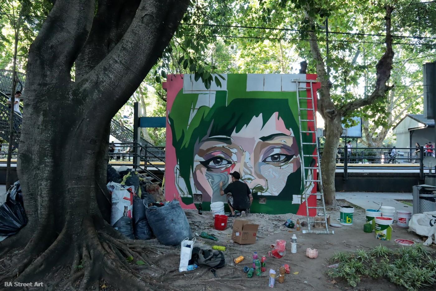 patxi mazzoni alonso artista muralist argentina buenos aires mujeres