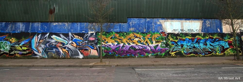 graffiti belfast bombing pieces wild style burners northern ireland cupar way