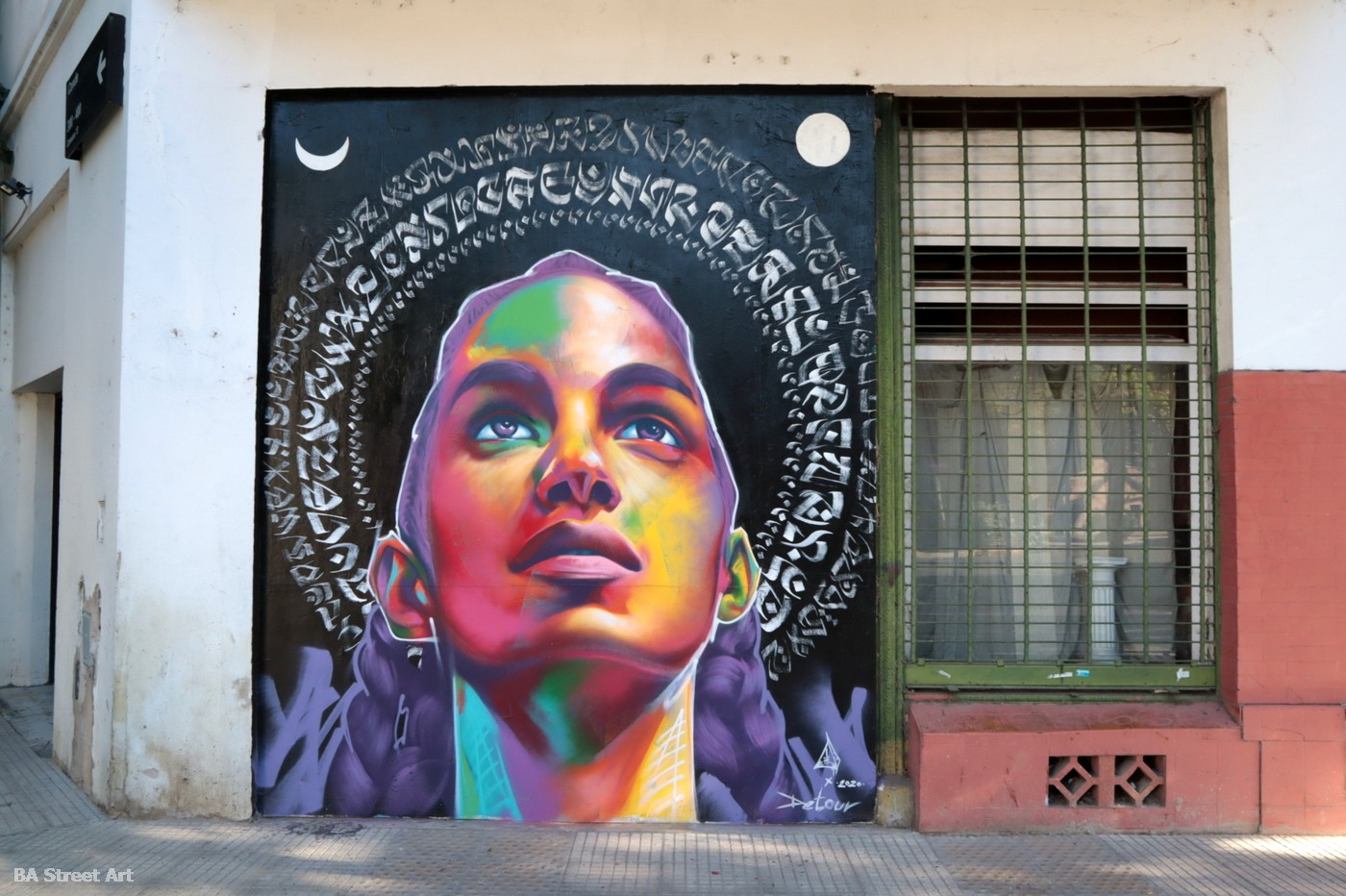 thomas evans artist muralist denver colorado detour buenos aires mural argentina colegiales tour urban art pyramyd