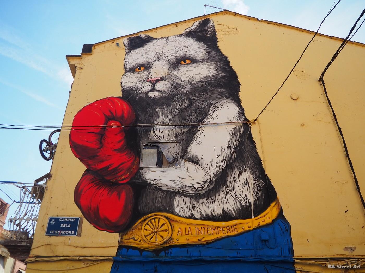 ericailcane mural valencia street art graffiti ilustracion animales grafica erica il cane buenosairesstreetart.com