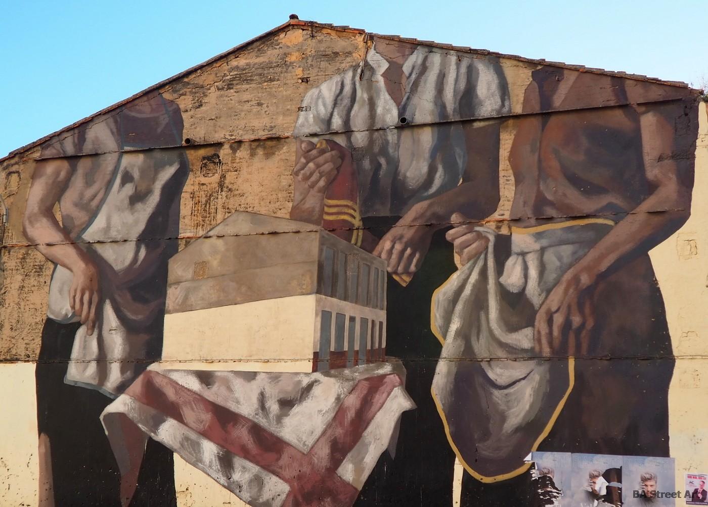 hyuro valencia mural artist street art graffiti fresque murais cabanyal muro españa spain