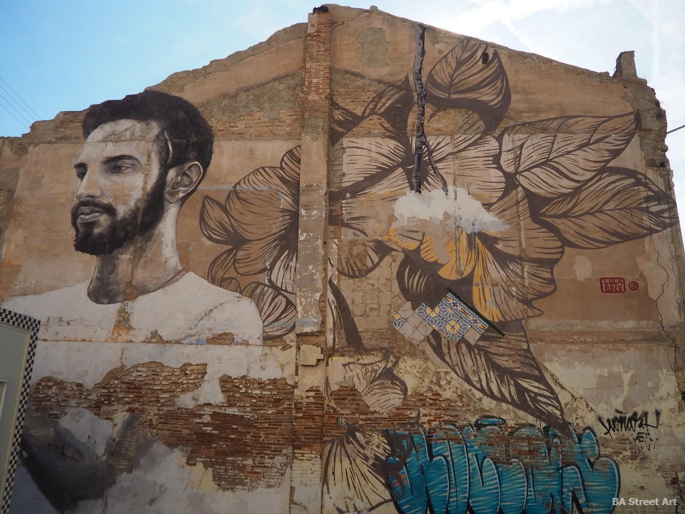 lula goce artista española barcelona mural en Valencia cabanyal buenosairesstreetart.co