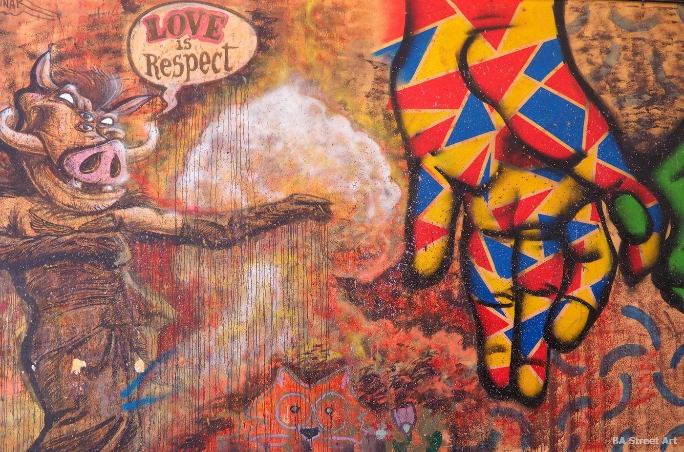 toni espinar mural valencia Cabañal-Cañamelar love is respect cabanyal