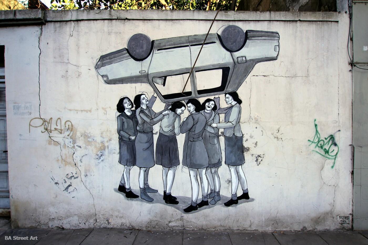 hyuro mural buenos aires argentina street artist tamara djurovic